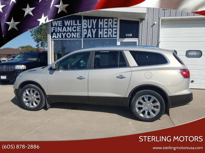 2010 Buick Enclave for sale at STERLING MOTORS in Watertown SD