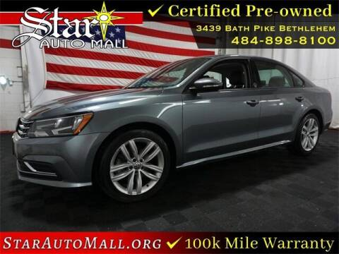 2019 Volkswagen Passat for sale at STAR AUTO MALL 512 in Bethlehem PA