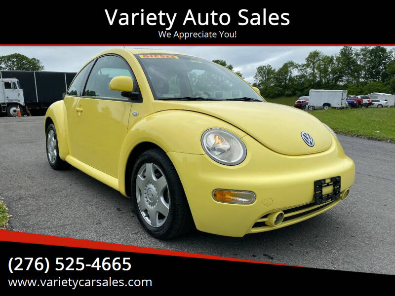 2000 Volkswagen New Beetle for sale at Variety Auto Sales in Abingdon VA