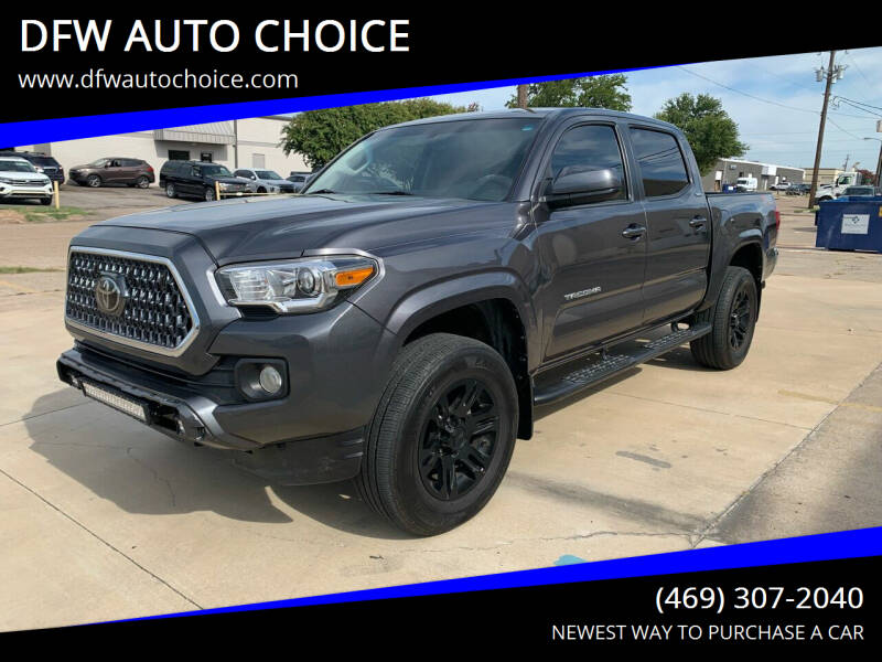 2016 Toyota Tacoma for sale at DFW AUTO CHOICE in Dallas TX