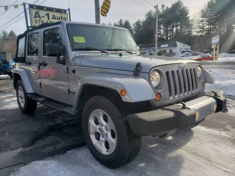 2013 Jeep Wrangler Unlimited for sale at A-1 Auto in Pepperell MA