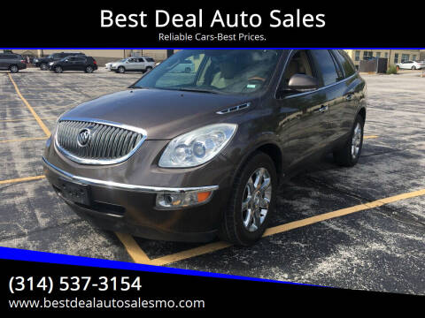 2009 Buick Enclave for sale at Best Deal Auto Sales in Saint Charles MO