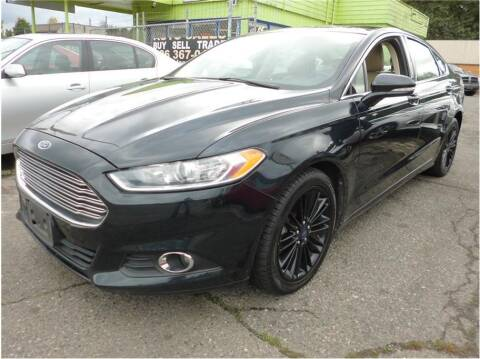 2014 Ford Fusion for sale at Klean Carz in Seattle WA