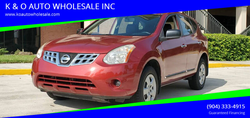 2011 Nissan Rogue for sale at K & O AUTO WHOLESALE INC in Jacksonville FL