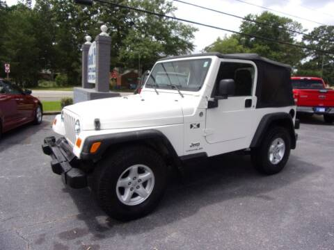 2005 Jeep Wrangler for sale at Good To Go Auto Sales in Mcdonough GA
