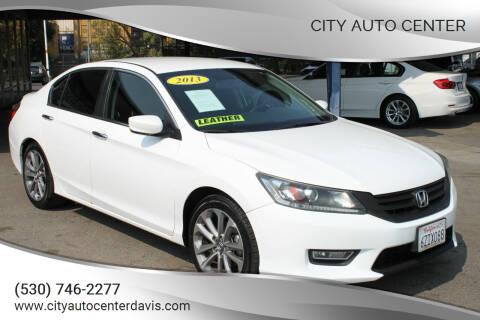 2013 Honda Accord for sale at City Auto Center in Davis CA