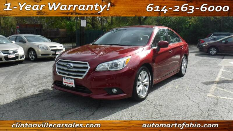 2015 Subaru Legacy for sale at Clintonville Car Sales in Columbus OH