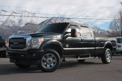 2014 Ford F-350 Super Duty for sale at REVOLUTIONARY AUTO in Lindon UT