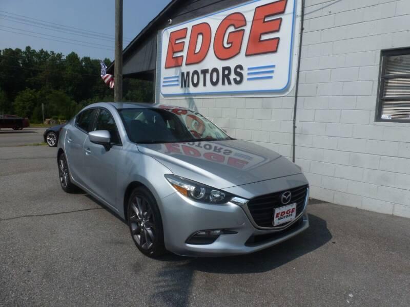 2018 Mazda MAZDA3 for sale at Edge Motors in Mooresville NC
