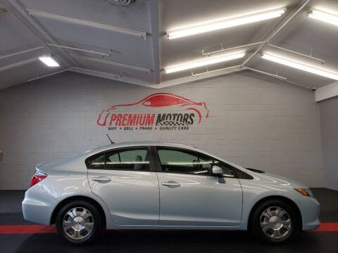2012 Honda Civic for sale at Premium Motors in Villa Park IL