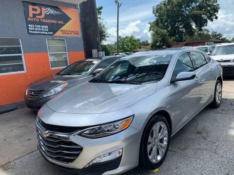 2019 Chevrolet Malibu for sale at P J Auto Trading Inc in Orlando FL
