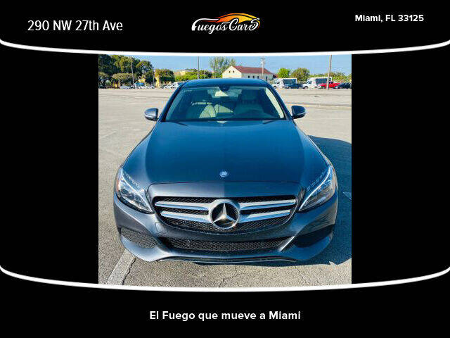 2015 Mercedes-Benz C-Class for sale at Fuego's Cars in Miami FL