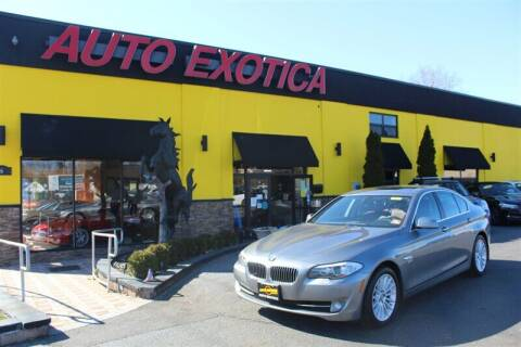 2011 BMW 5 Series for sale at Auto Exotica in Red Bank NJ