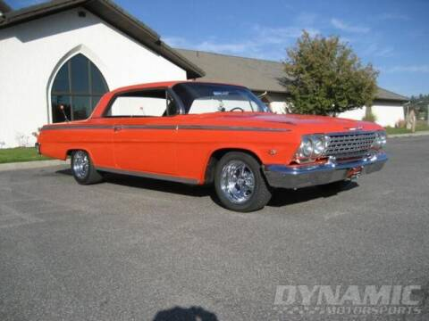 1962 Chevrolet Impala for sale at SW Dynamic Motorsports in Garland TX