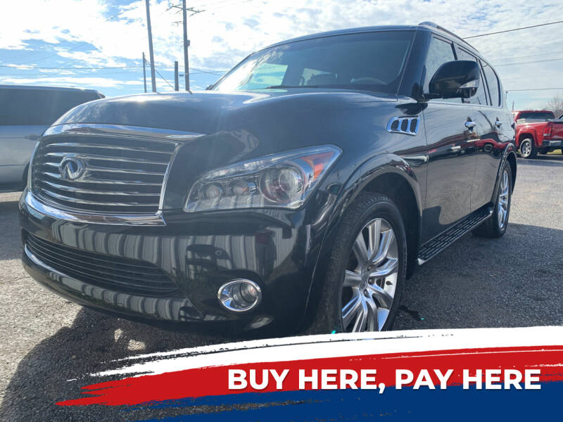 2011 Infiniti QX56 for sale at Safeway Auto Sales in Horn Lake MS