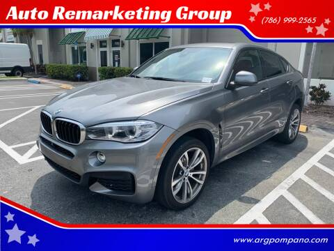 2016 BMW X6 for sale at Auto Remarketing Group in Pompano Beach FL