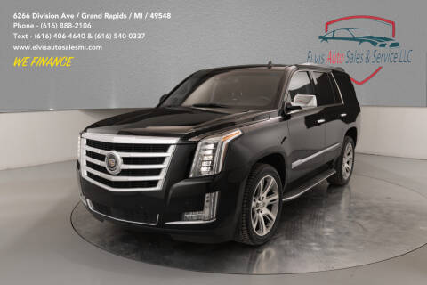 2015 Cadillac Escalade for sale at Elvis Auto Sales LLC in Grand Rapids MI