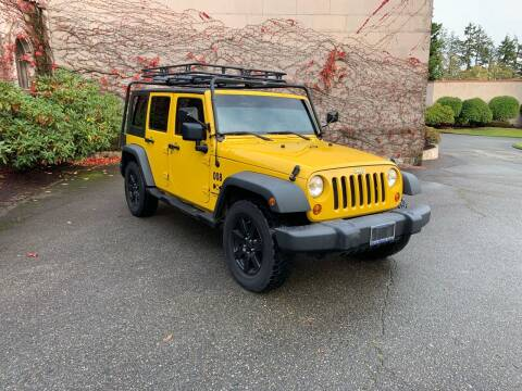 2008 Jeep Wrangler Unlimited for sale at First Union Auto in Seattle WA
