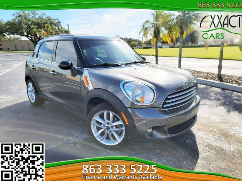 2013 MINI Countryman for sale at Exxact Cars in Lakeland FL