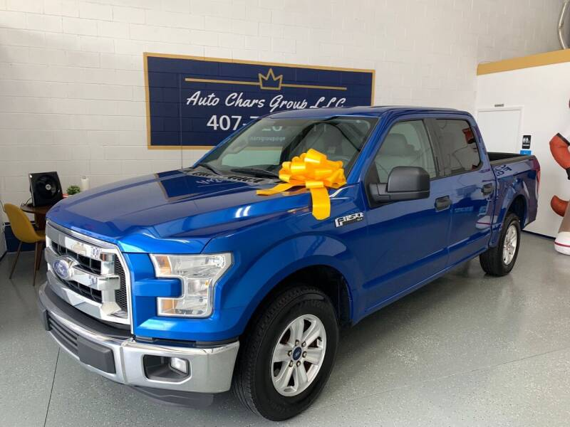 2015 Ford F-150 for sale at Auto Chars Group LLC in Orlando FL