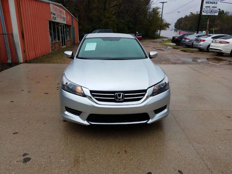 2014 Honda Accord for sale at MENDEZ AUTO SALES in Tyler TX