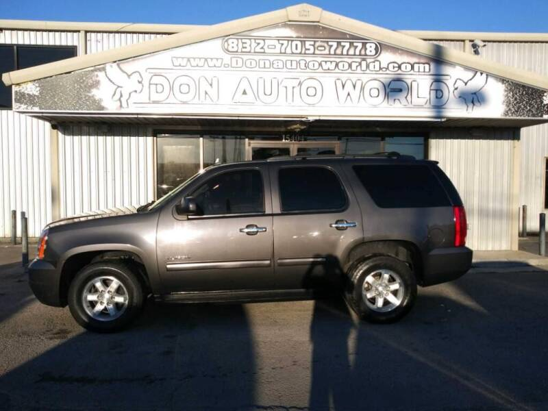 2010 GMC Yukon for sale at Don Auto World in Houston TX