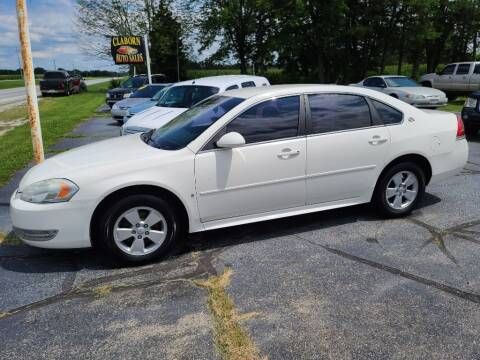 2009 Chevrolet Impala for sale at Claborn Motors, LLC. in Cambridge City IN