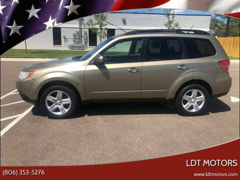 2009 Subaru Forester for sale at LDT MOTORS in Amarillo TX
