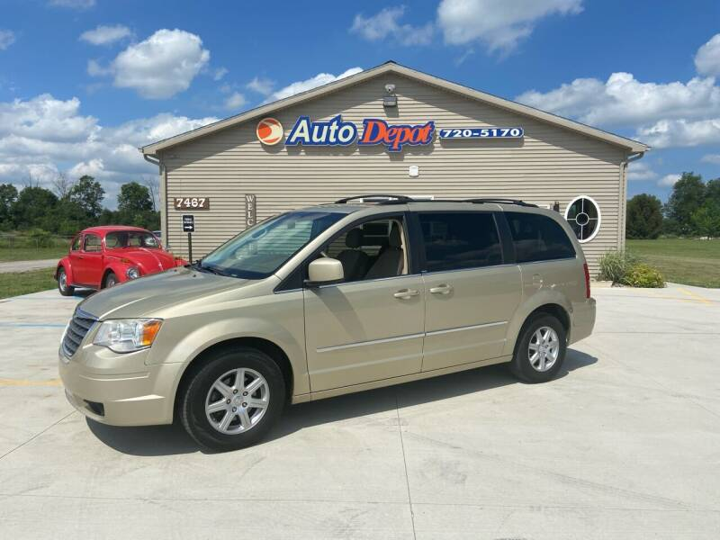 2010 Chrysler Town and Country for sale at The Auto Depot in Mount Morris MI