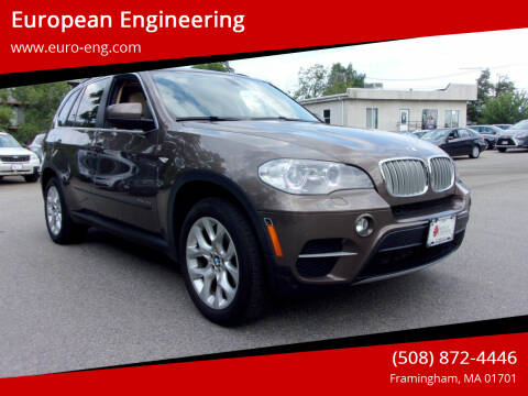2013 BMW X5 for sale at European Engineering in Framingham MA