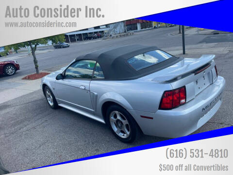 2004 Ford Mustang for sale at Auto Consider Inc. in Grand Rapids MI