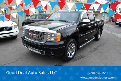 2013 GMC Sierra 1500 for sale at Good Deal Auto Sales LLC in Denver CO
