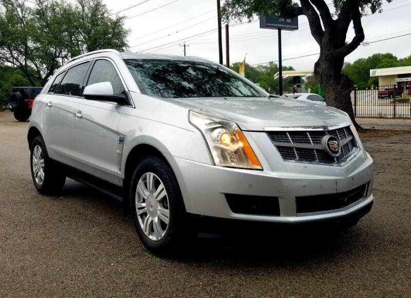2012 Cadillac SRX for sale at Clover Leaf Auto Group in San Antonio TX