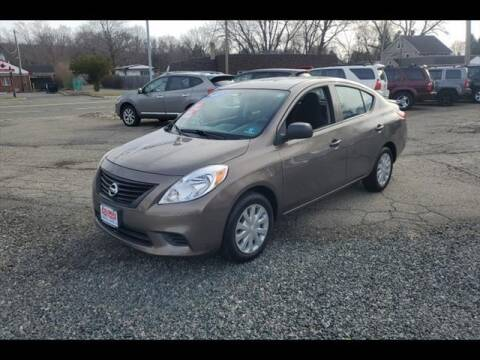 2013 Nissan Versa for sale at Colonial Motors in Mine Hill NJ