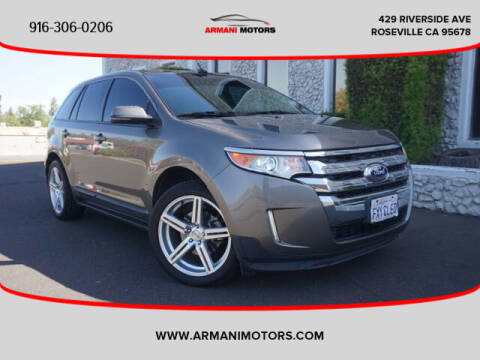 2013 Ford Edge for sale at Armani Motors in Roseville CA
