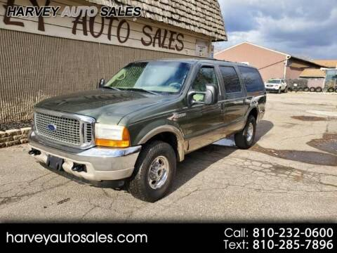 2001 Ford Excursion for sale at Harvey Auto Sales, LLC. in Flint MI