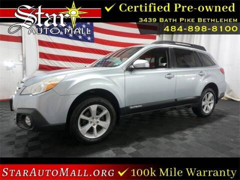 2014 Subaru Outback for sale at STAR AUTO MALL 512 in Bethlehem PA