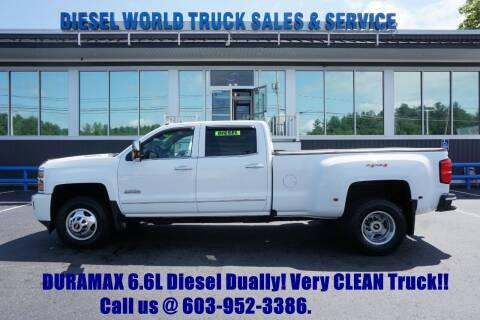 2016 Chevrolet Silverado 3500HD for sale at Diesel World Truck Sales in Plaistow NH