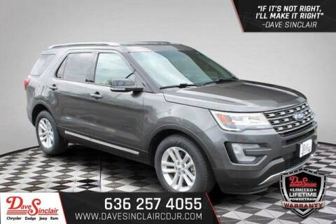 2016 Ford Explorer for sale at Dave Sinclair Chrysler Dodge Jeep Ram in Pacific MO