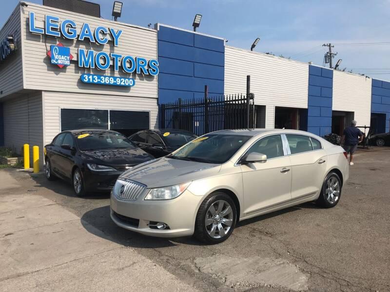 2011 Buick LaCrosse for sale at Legacy Motors in Detroit MI
