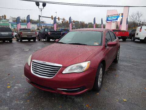 2011 Chrysler 200 for sale at P J McCafferty Inc in Langhorne PA