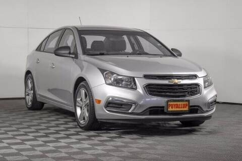 2015 Chevrolet Cruze for sale at Chevrolet Buick GMC of Puyallup in Puyallup WA