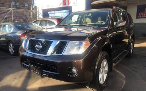 2011 Nissan Pathfinder for sale at DEALS ON WHEELS in Newark NJ