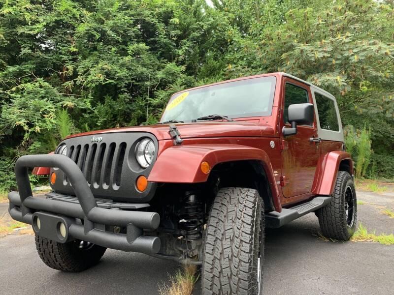 2008 Jeep Wrangler for sale at Peach Auto Sales in Smyrna GA