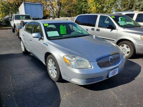 2009 Buick Lucerne for sale at Stach Auto in Janesville WI