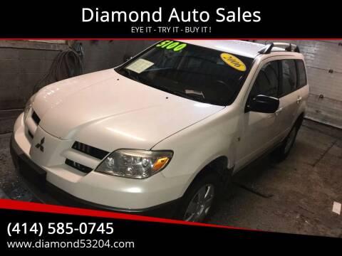 2006 Mitsubishi Outlander for sale at Diamond Auto Sales in Milwaukee WI