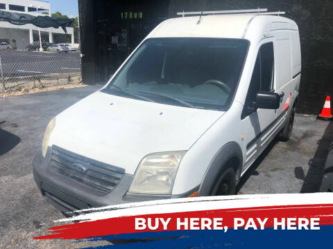 2013 Ford Transit Connect for sale at Nationwide Auto Finance in Miami FL