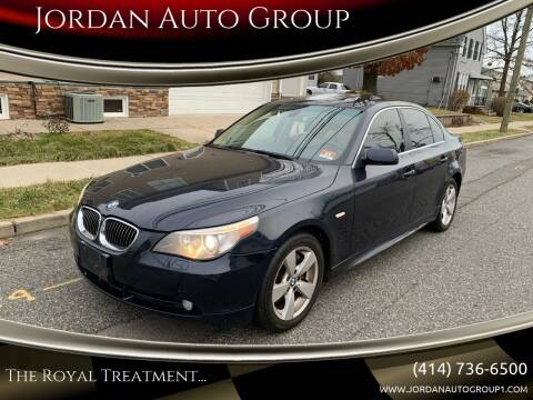 2007 BMW 5 Series for sale at Jordan Auto Group in Paterson NJ