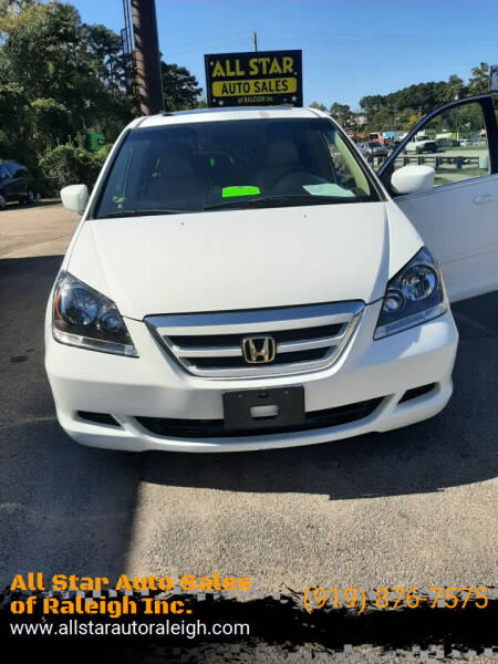 2005 Honda Odyssey for sale at All Star Auto Sales of Raleigh Inc. in Raleigh NC