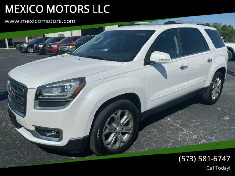 2016 GMC Acadia for sale at MEXICO MOTORS LLC in Mexico MO